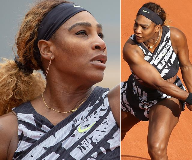 Serena Williams' French Open outfit makes a fiery public statement - here's why