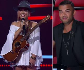 Awkward! Looks like Guy Sebastian just snubbed a Voice contestant he already knew - on national television
