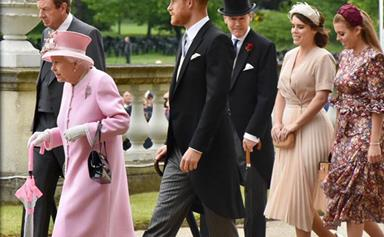Prince Harry joins the Queen, Princess Beatrice and Princess Eugenie at the latest Buckingham Palace garden party