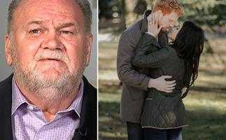 Thomas Markle chucks a hissy fit over his portrayal in the new Harry and Meghan movie