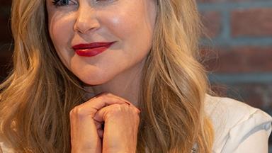 Proud mum! Nicole Kidman shares rare family snap with daughters Sunday and Faith