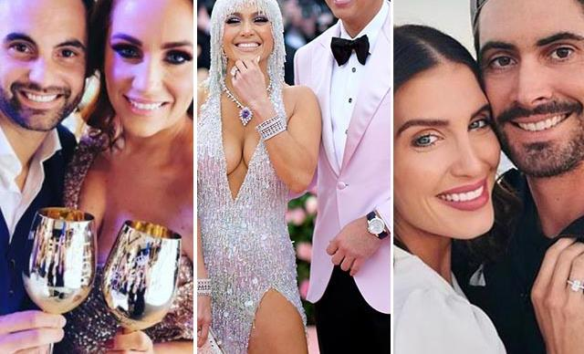 Knees are dropping! All of the celebrities who've got engaged in 2019