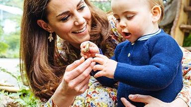 Spotted! Eagle-eyed royal fan spots Prince Louis on play date as the Cambridge's holiday plans are revealed