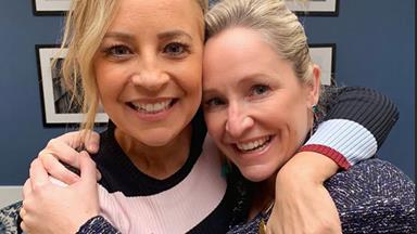 How single mum Fifi Box's friends are helping her through her second pregnancy