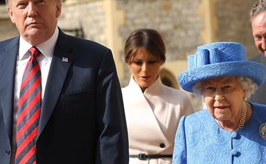Everything you need to know about President Trump's royal visit