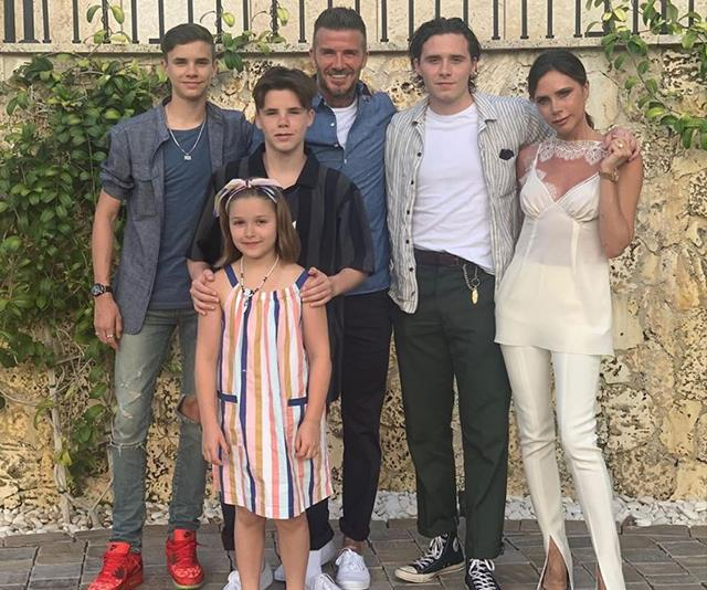 David and Victoria Beckham reveal daughter Harper's new and somewhat unexpected hobby