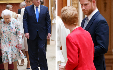 Prince Harry's unexpected reaction to Donald Trump's visit