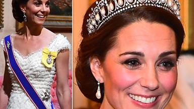 Just FYI, you can buy Kate's heavenly tiara for under $100 and this is not a drill