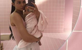 Kylie Jenner shares the first pic of Stormi since her hospital visit