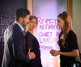 Neighbours' Chloe is in for a shock when she meets Pierce's new woman