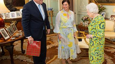 The unusual gift Prime Minister Scott Morrison gave the Queen