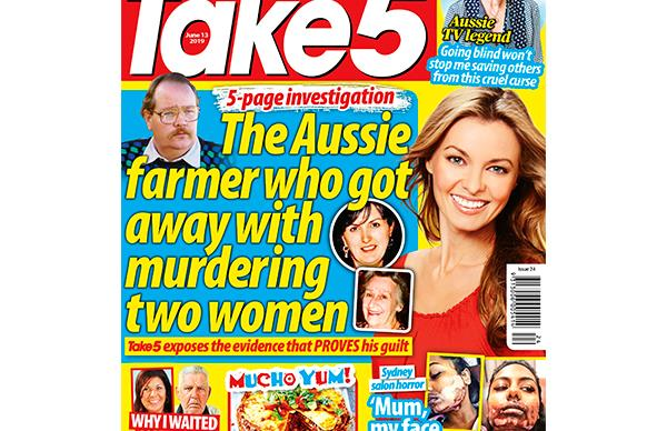 Take 5 Issue 24 Entry Coupon