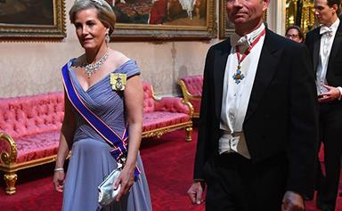 The sweet story behind Sophie Countess of Wessex's state banquet tiara