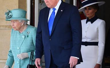 How the Queen's black handbag is sending a hidden signal during Trump's visit