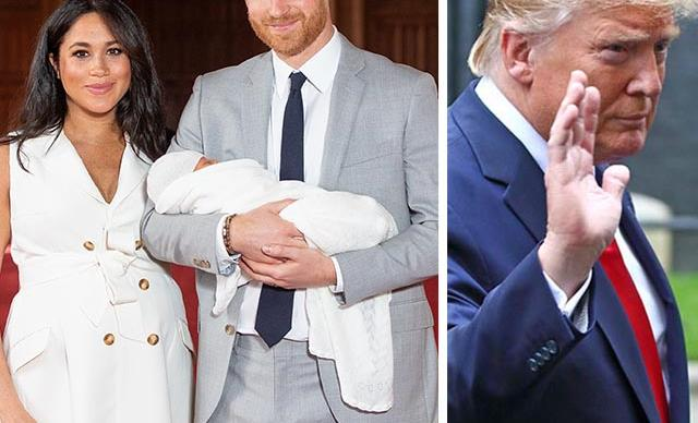How Meghan Markle and Prince Harry snubbed Donald Trump without us even realising