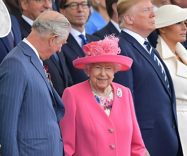 The Queen attended D-Day celebrations with world leaders including US President Donald Trump.