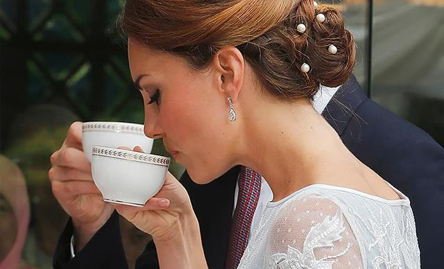 Kate Middleton tea