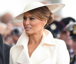 Melania Trump ends UK tour with another twinning moment - and it's with someone very unexpected