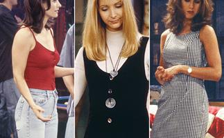 Here's a quiet reminder that Rachel, Monica and Phoebe from Friends set 2021's key fashion trends decades ago