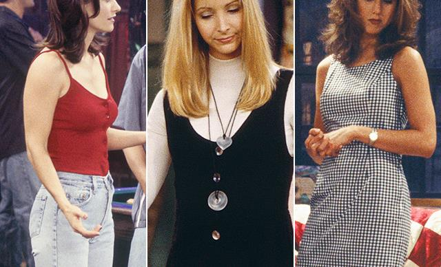 Here's a quiet reminder that Rachel, Monica and Phoebe from Friends set 2019's key fashion trends decades ago