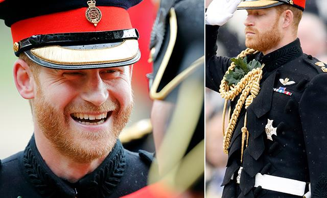 New dad Prince Harry shares an incredible emotional speech as he attends Founders Day Parade