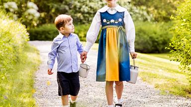 Stunning new photos of the young Swedish royals emerge - see how much they've grown up!