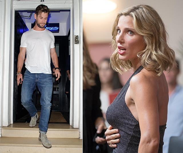 Elsa Pataky is not impressed by husband Chris Hemsworth's drinking