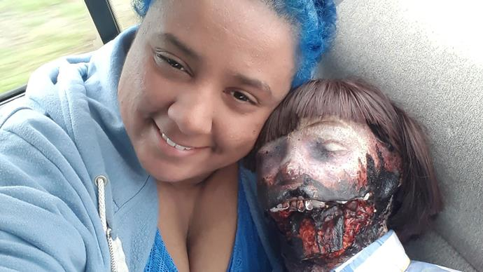 Real life: I married my zombie doll and I've never been happier