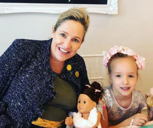 Too cute! Mum-to-be Fifi Box just threw a big sister party for daughter Trixie