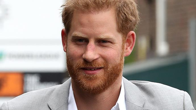 NEW PICS: New father Prince Harry looks UNBELIEVABLY well-rested and we need his moisturiser recommendations immediately