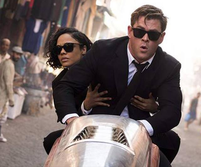 Chris Hemsworth and Tessa Thompson in Men in Black make the funniest movie combo - here's why