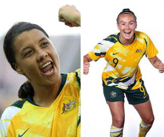 The making of champions: Meet The Matildas' iconic soccer stars Sam Kerr and Caitlin Foord