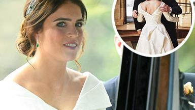 Princess Eugenie just shared an incredible never-before-seen picture from her wedding day for a very special reason