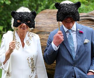 Prince Charles and Camilla just went undercover with masks for surprise event - see their hilarious reveal