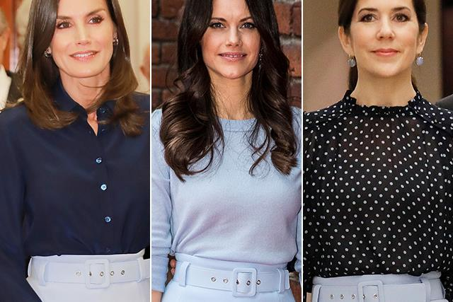 Three different royals have just worn the EXACT same skirt - see why they're obsessed with it