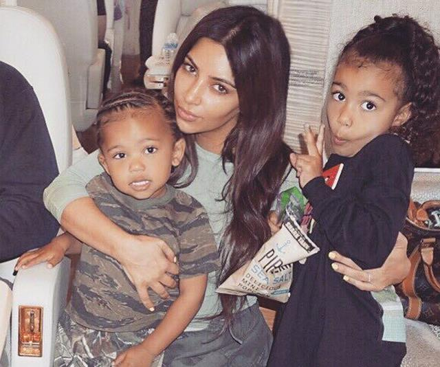 Kim Kardashian shared a brand new photo of Saint and Psalm and it's heavenly