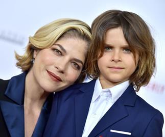 The incredibly touching reason why Selma Blair's seven-year-old son shaved her head