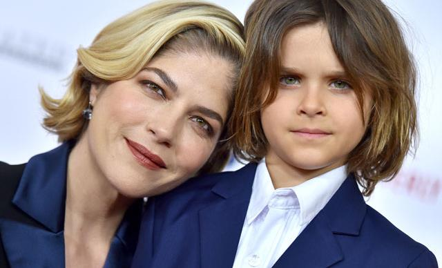 Selma Blair's 7-year-old son has shaved her head, and the reason why is so touching.