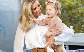"""EXCLUSIVE: Rebecca Maddern celebrates her """"miracle"""" baby daughter Ruby"""