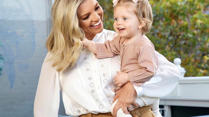 "EXCLUSIVE: Rebecca Maddern celebrates her ""miracle"" baby daughter Ruby"
