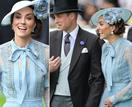 Kate and Wills brighten up a drizzly day at Royal Ascot with an animated display - see the pics