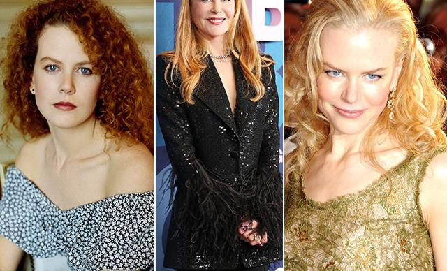 Nicole Kidman's stunning beauty transformation over the years