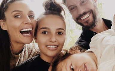 It's a girl! Sam and Snezana Wood welcome baby number two