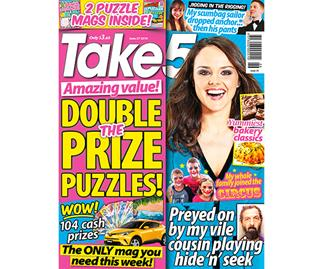 Take 5 Issue 26 Entry Coupon