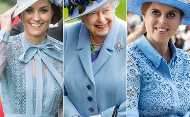 The touching reason why the royals wore blue to Royal Ascot
