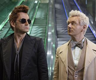 First episodes of 'Good Omens' reviewed: David Tennant and Michael Sheen are cast perfectly together