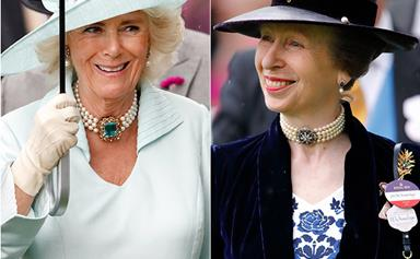Duchess Camilla and Princess Anne just had a completely unexpected twinning moment at Royal Ascot