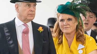 Sarah Ferguson drops a bombshell royal secret as she and Andrew reunite at Ascot