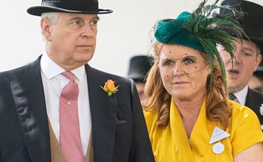 Sarah Ferguson drops a bombshell royal secret as she and Andrew reunite at Ascot