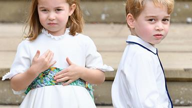 Prince George and Princess Charlotte set to star in yet another wedding party - find out who it's for!